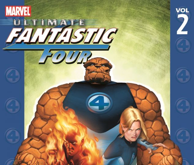 ULTIMATE FANTASTIC FOUR VOL. 2: DOOM 0 cover