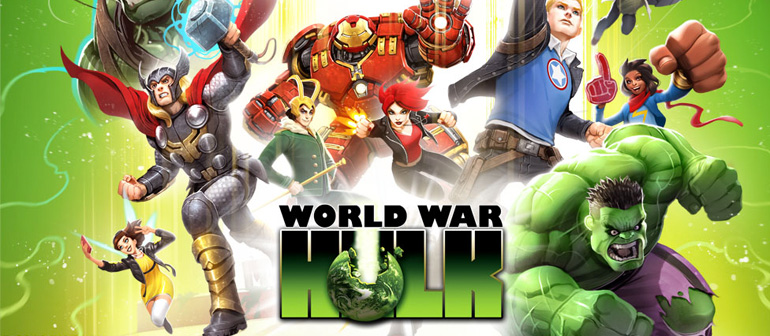 Battle an Army of Hulks in 'Marvel A