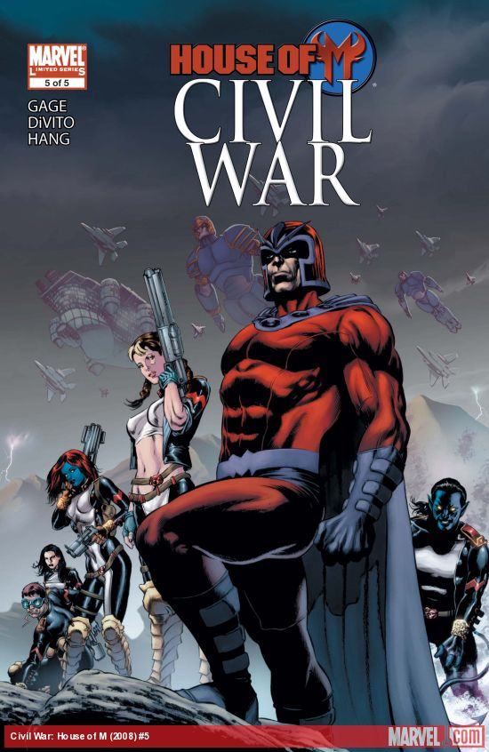 Civil War: House of M (2008) #5