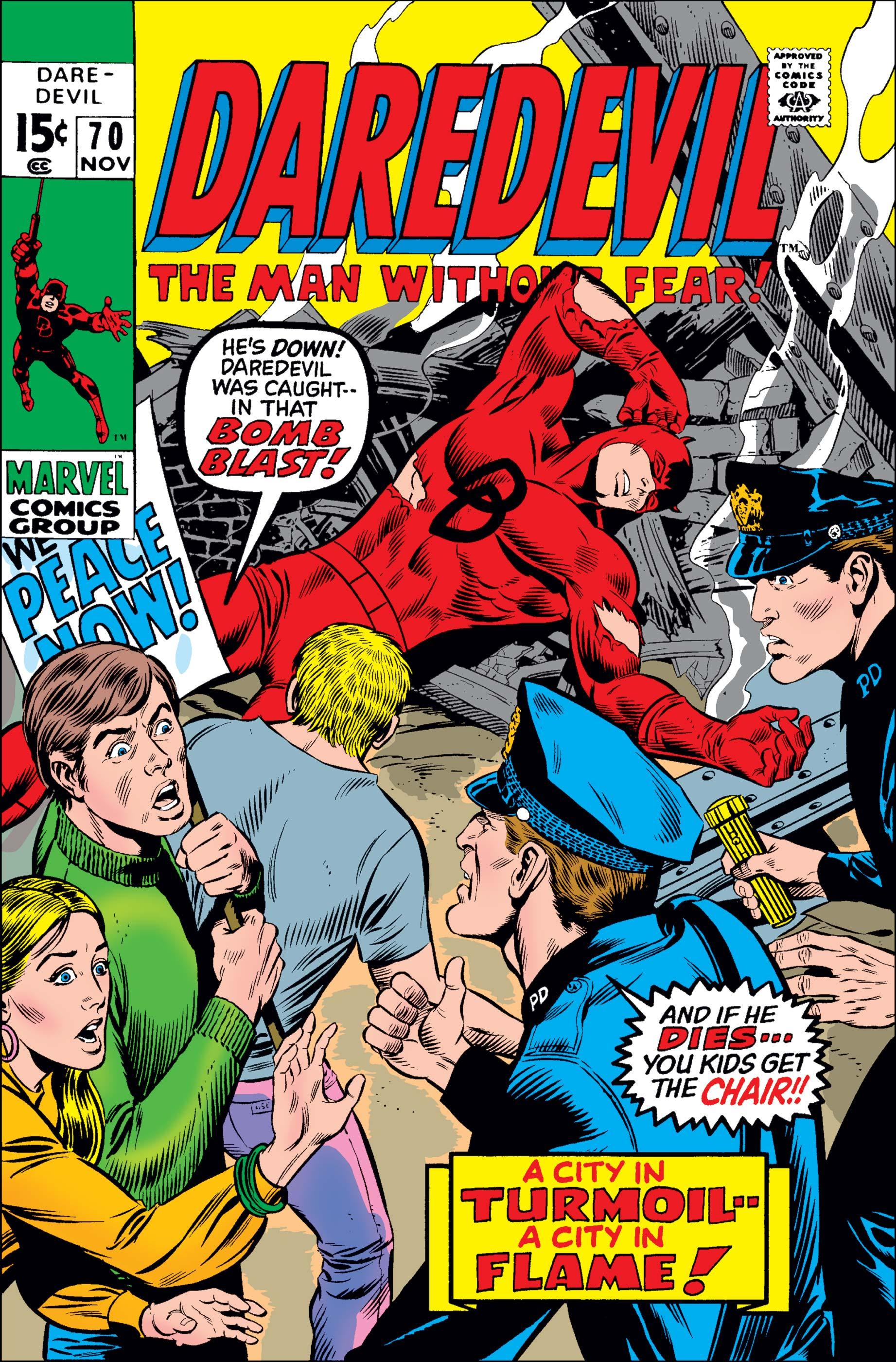 Daredevil (1964) #70