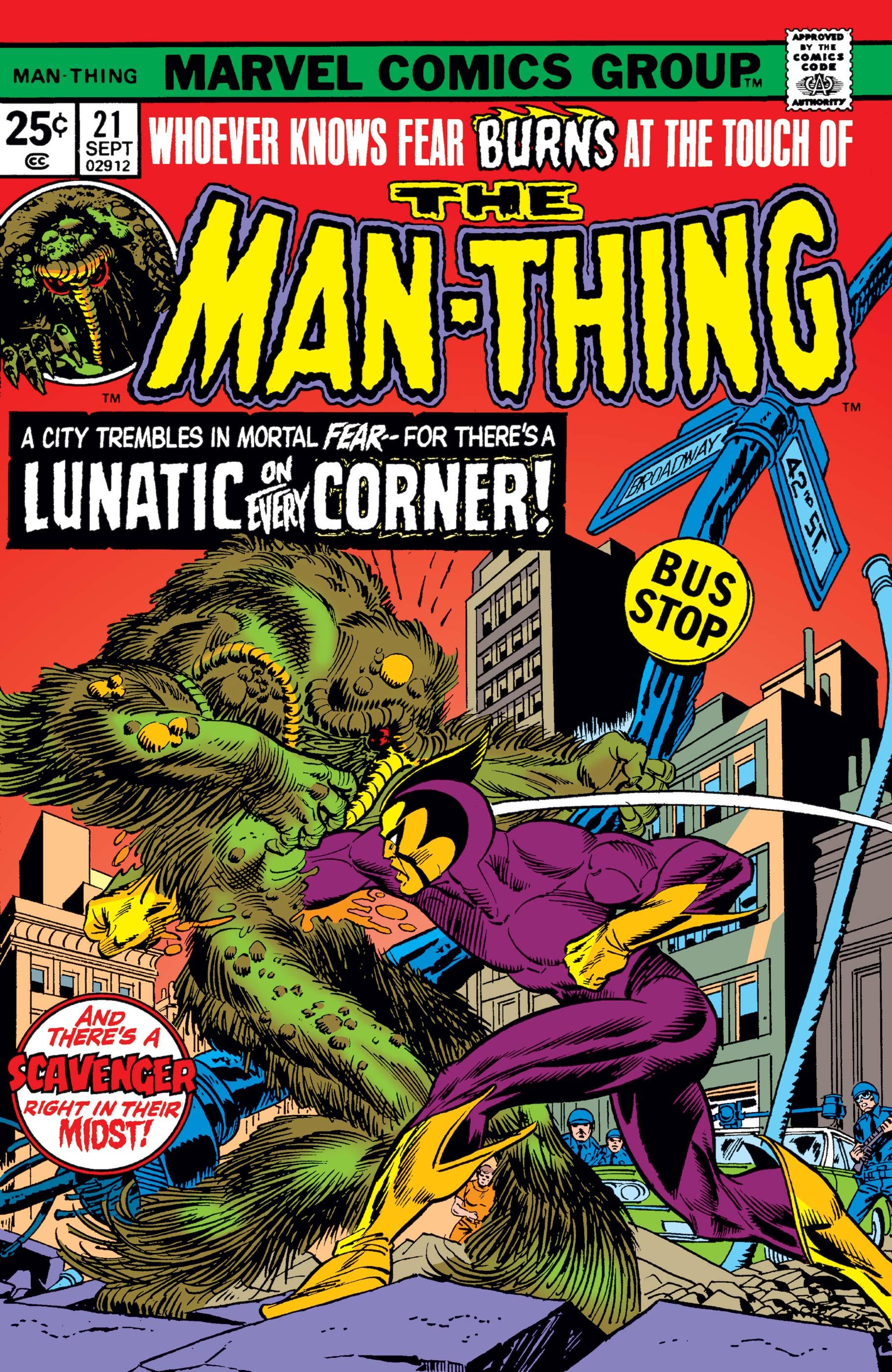 Man-Thing (1974) #21