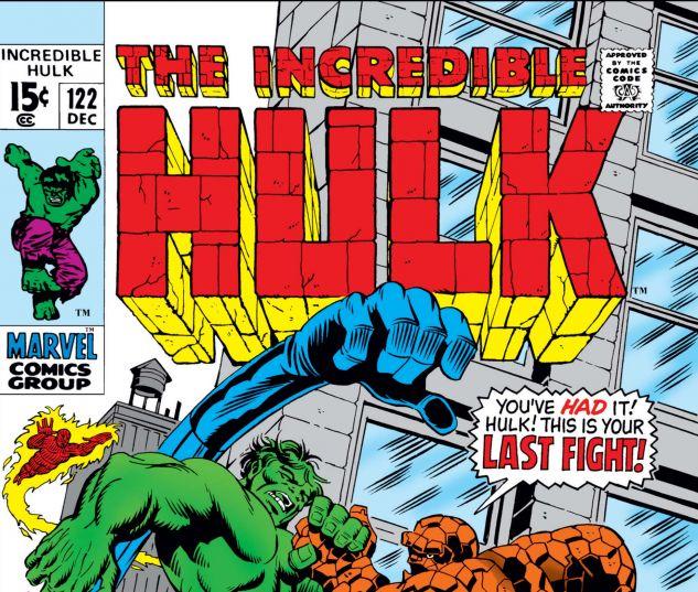 INCREDIBLE HULK (1962) #122