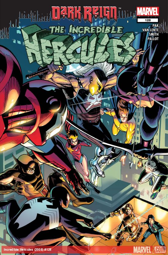 Incredible Hercules (2008) #128