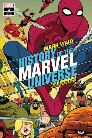 History of the Marvel Universe (2019) #3 (Variant)