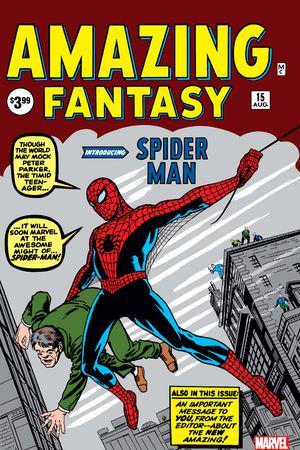 Amazing Fantasy Facsimile Edition (2019) #1