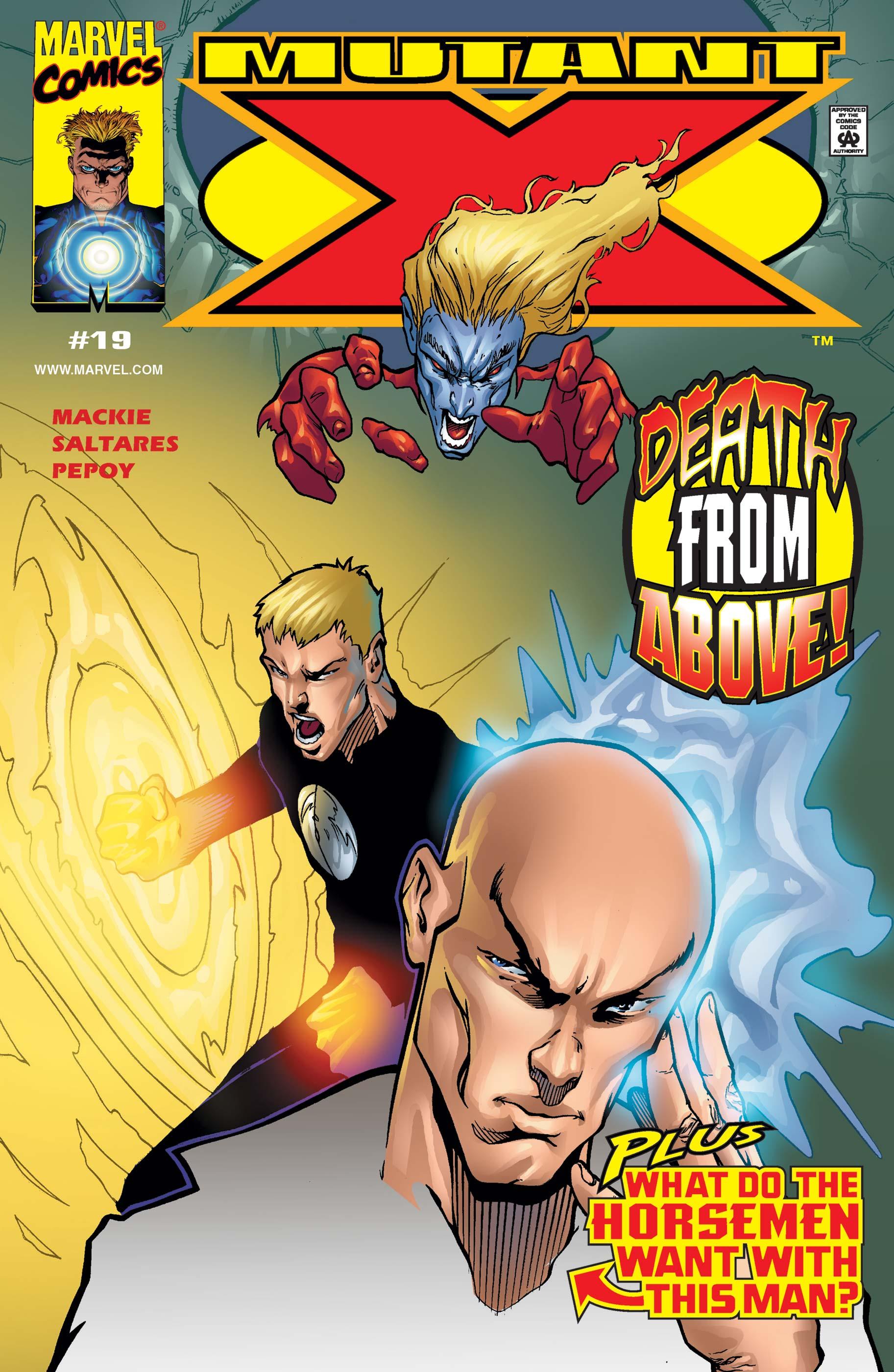 Mutant X (1998) #19