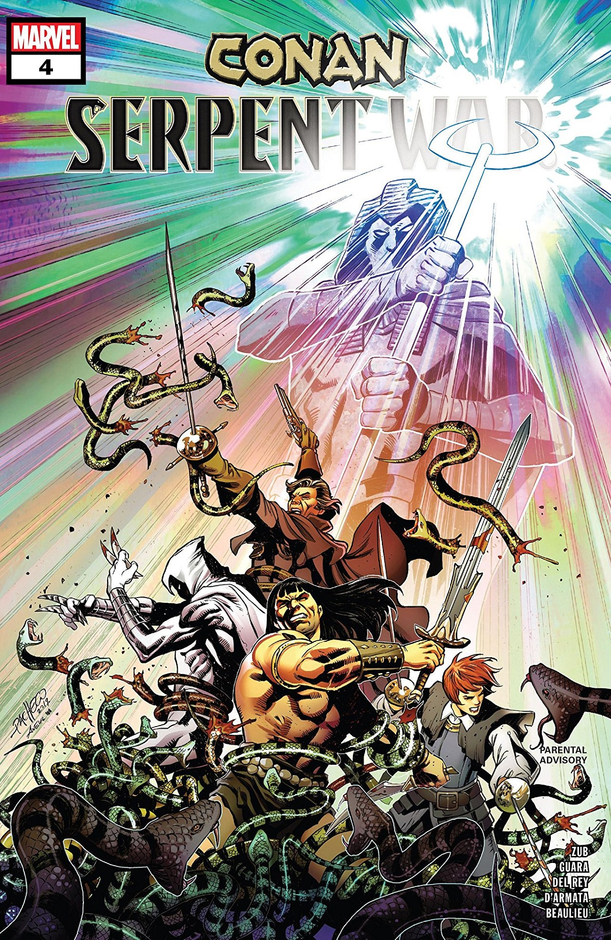 Conan: Serpent War (2019) #4
