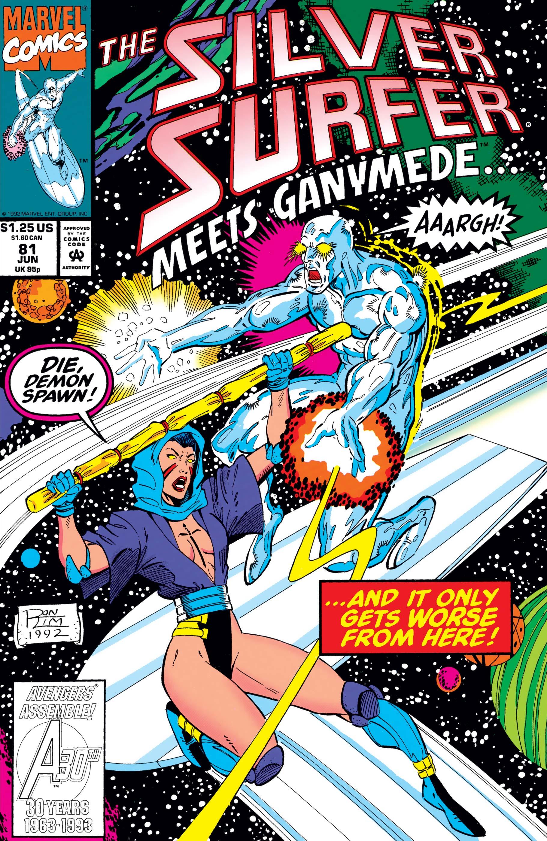 Silver Surfer (1987) #81