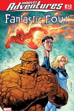 Marvel Adventures Fantastic Four #43