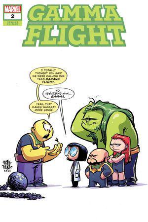 Gamma Flight (2021) #2 (Variant)