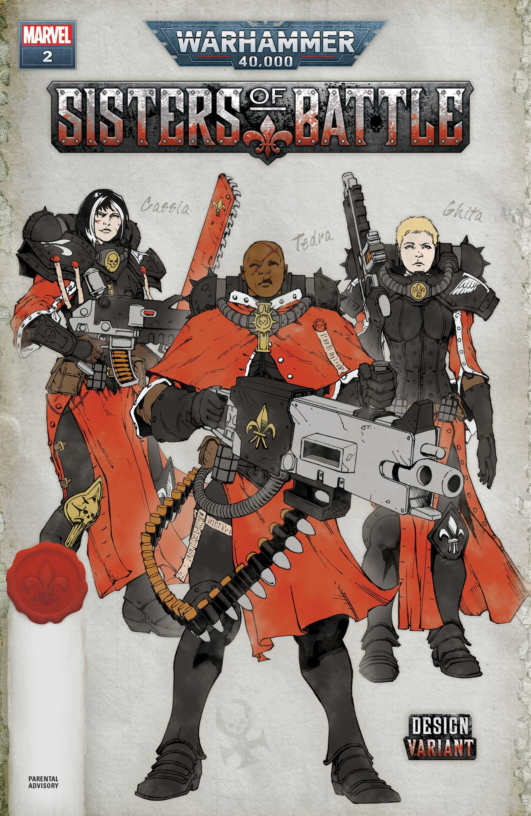 Warhammer 40,000: Sisters of Battle (2021) #2 (Variant)