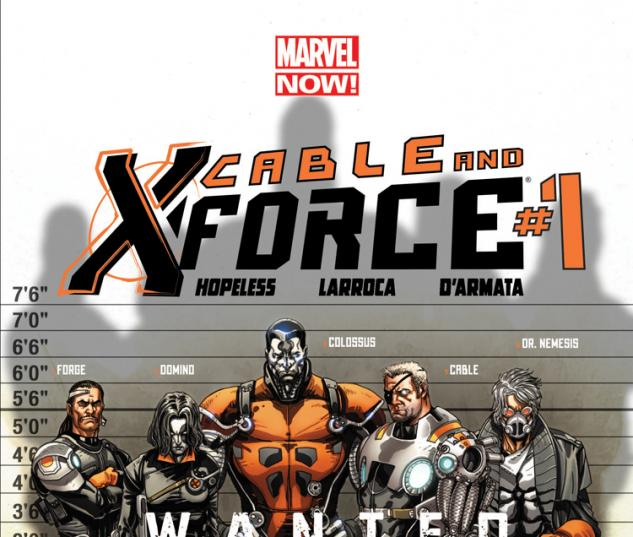 Cable and X-Force 2012 Cover #1