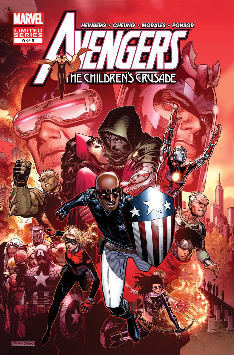 Avengers: The Children's Crusade (2010) #9