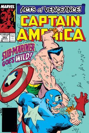 Captain America #365