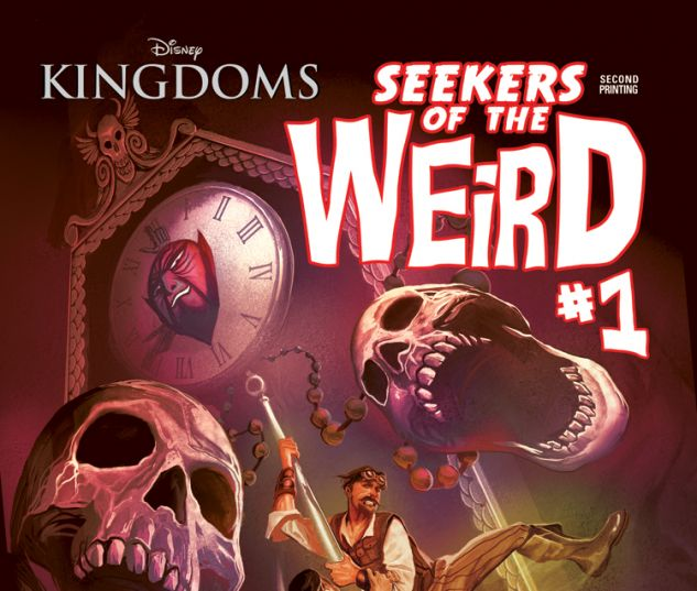 DISNEY KINGDOMS: SEEKERS OF THE WEIRD 1 DEL MUNDO 2ND PRINTING VARIANT (WITH DIGITAL CODE)