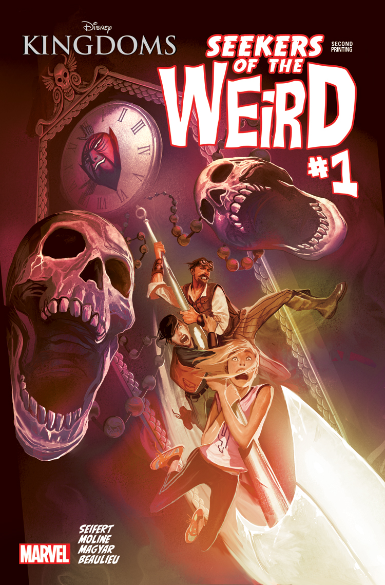 Disney Kingdoms: Seekers of the Weird (2014) #1 (Del Mundo 2nd Printing Variant)