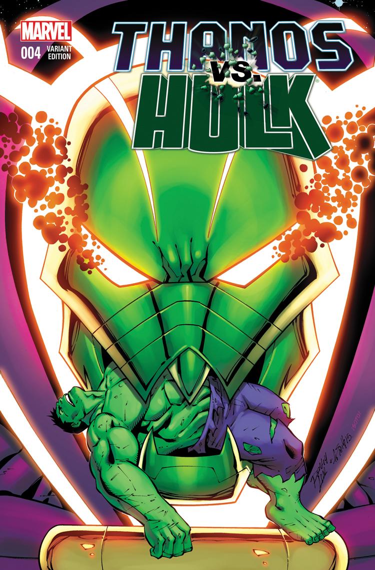 Thanos Vs. Hulk (2014) #4 (Lim Variant)