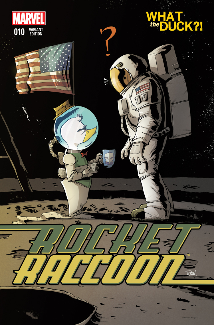Rocket Raccoon (2014) #10 (Guillory Wtd Variant)