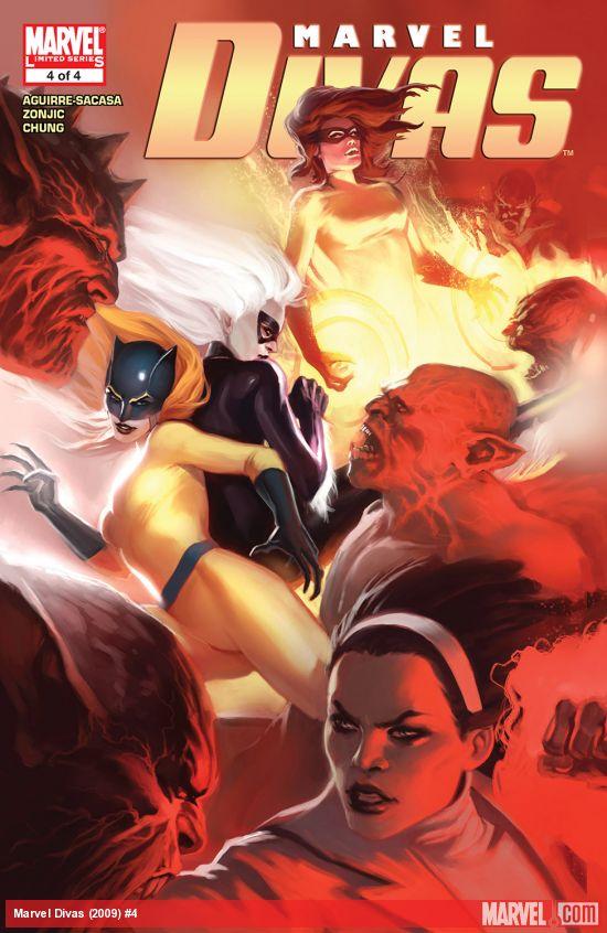 Marvel Divas (2009) #4