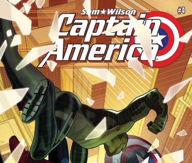 CAPTAIN AMERICA: SAM WILSON 4