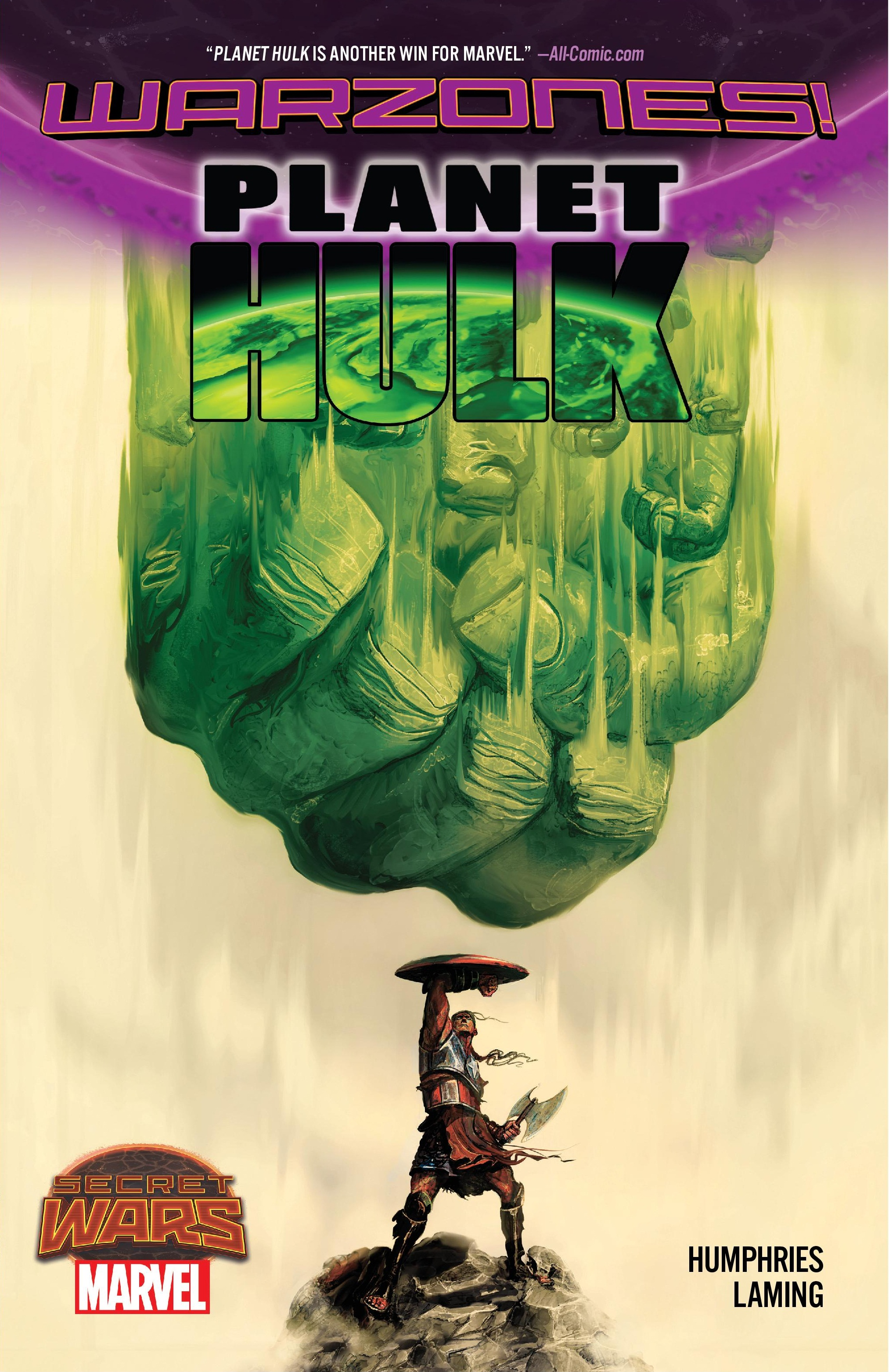 Planet Hulk: Warzones! (Trade Paperback)