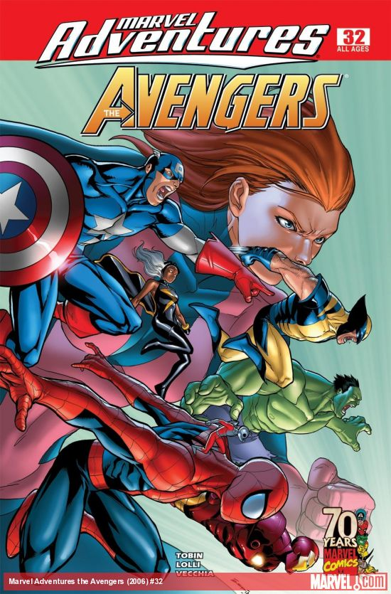 Marvel Adventures the Avengers (2006) #32