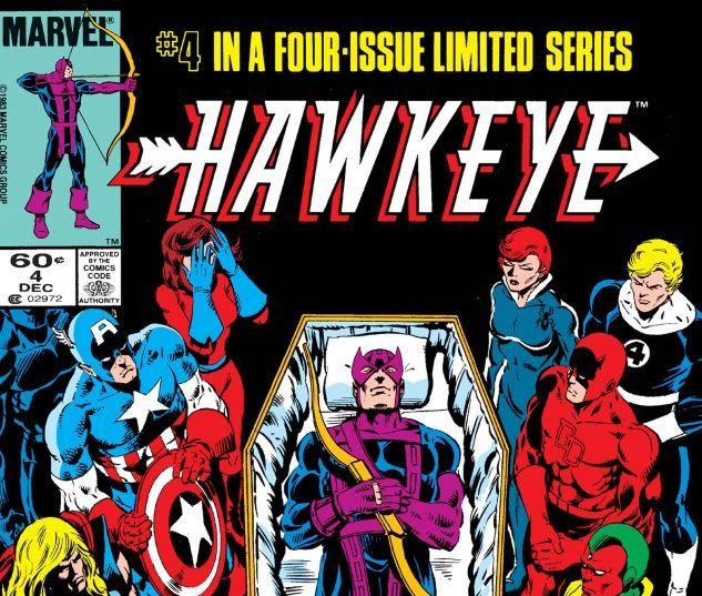 Hawkeye (1983) #4