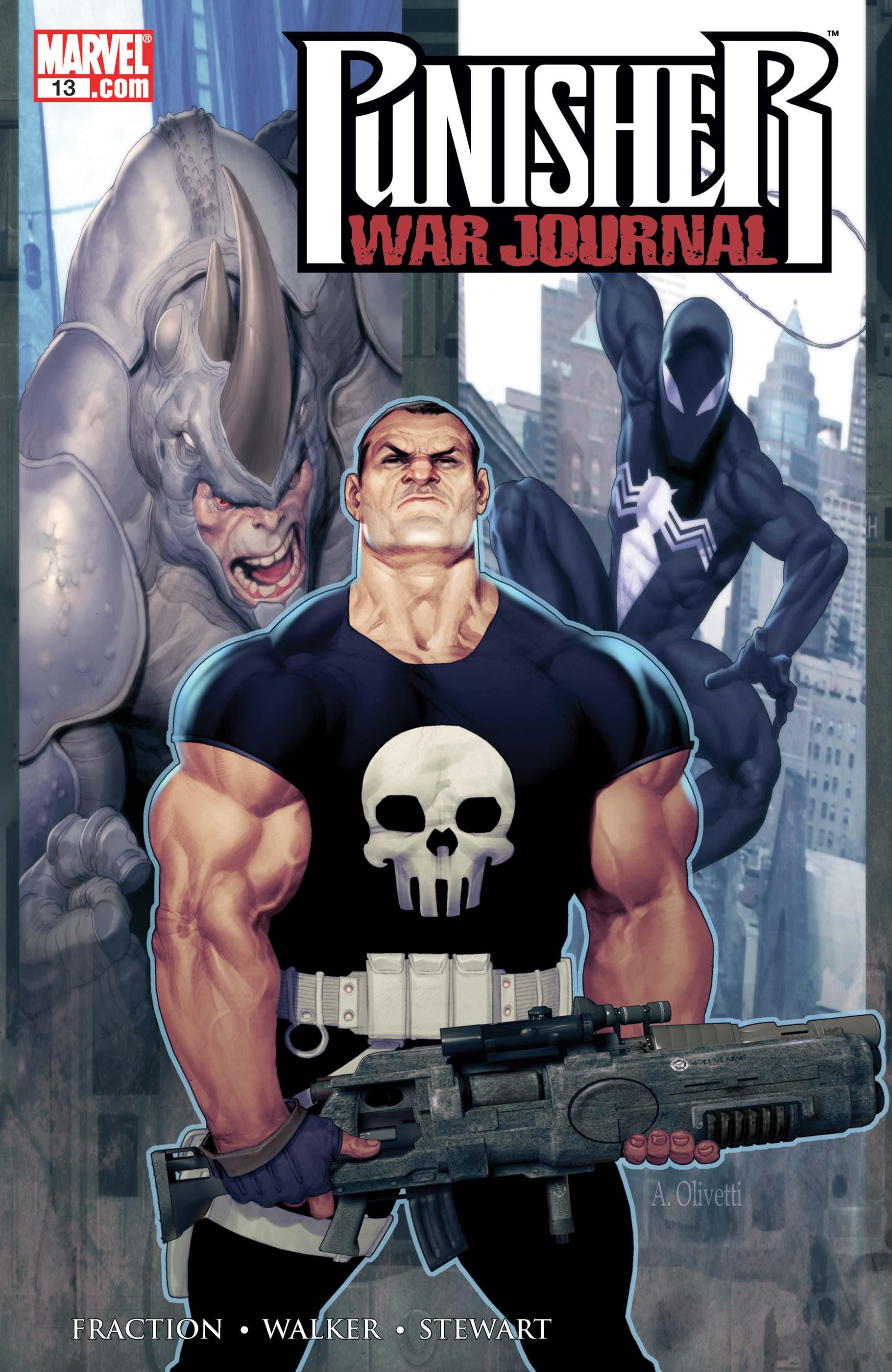 Punisher War Journal (2006) #13
