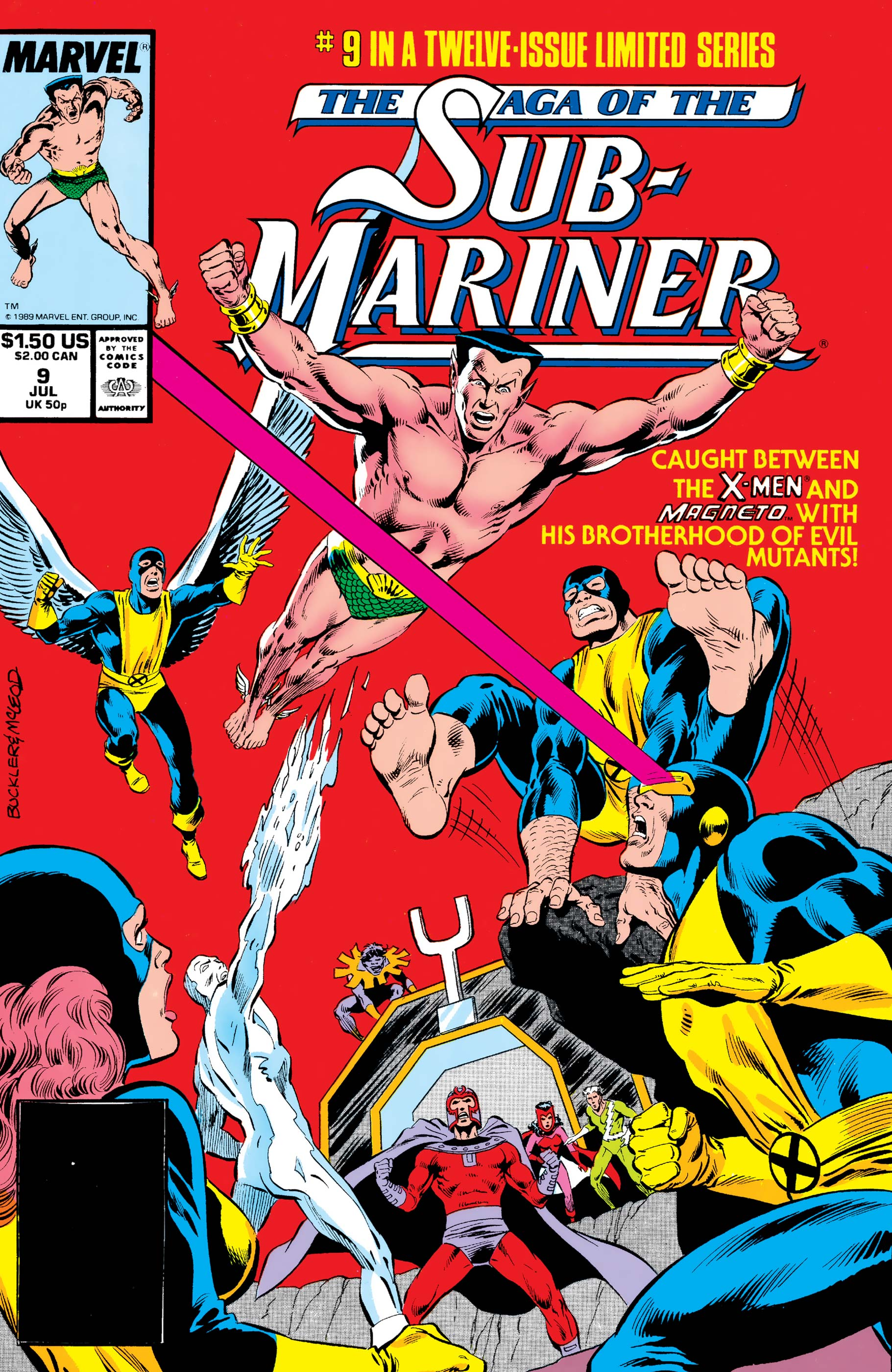 Saga of the Sub-Mariner (1988) #9