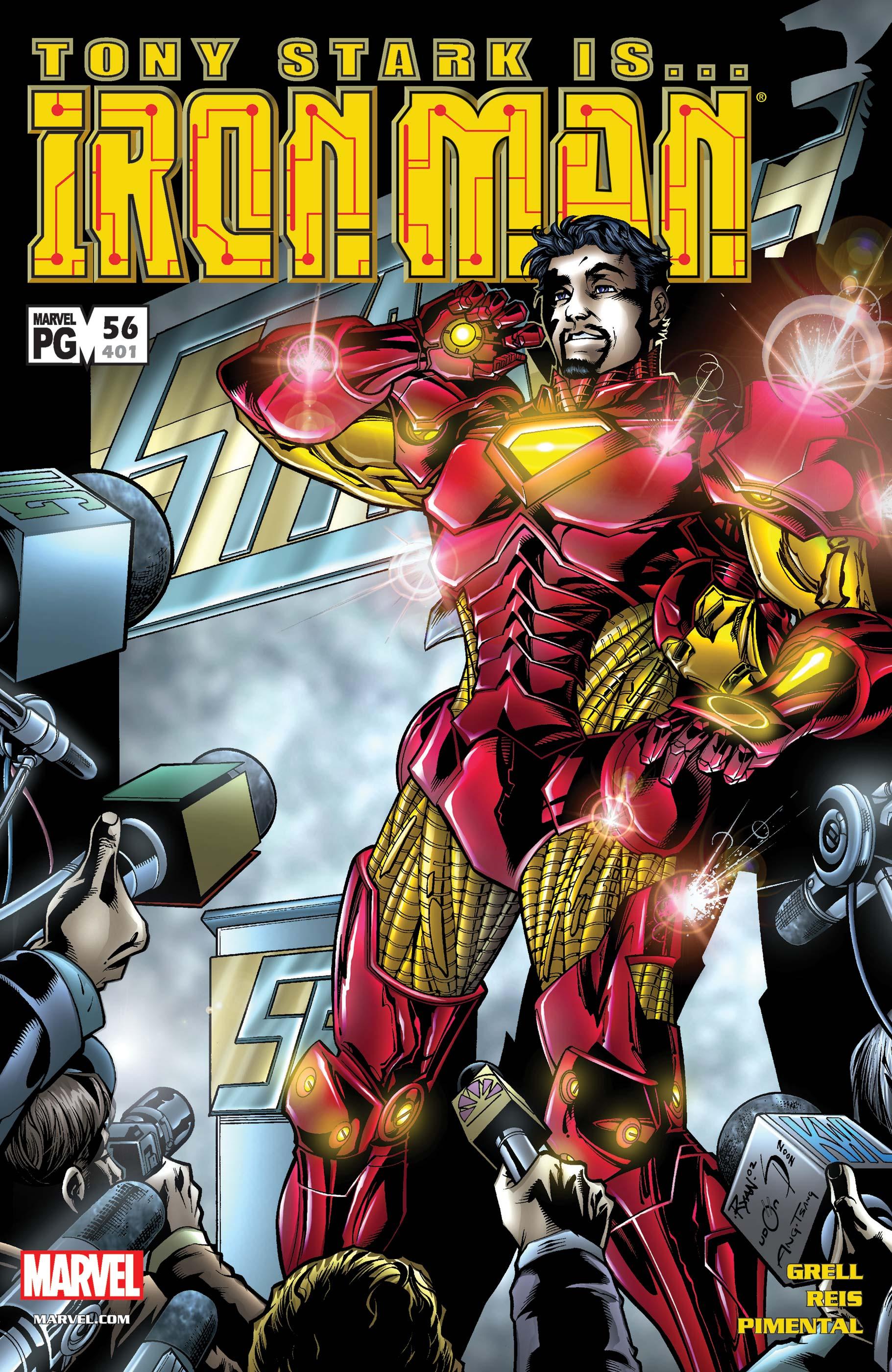 Iron Man (1998) #56