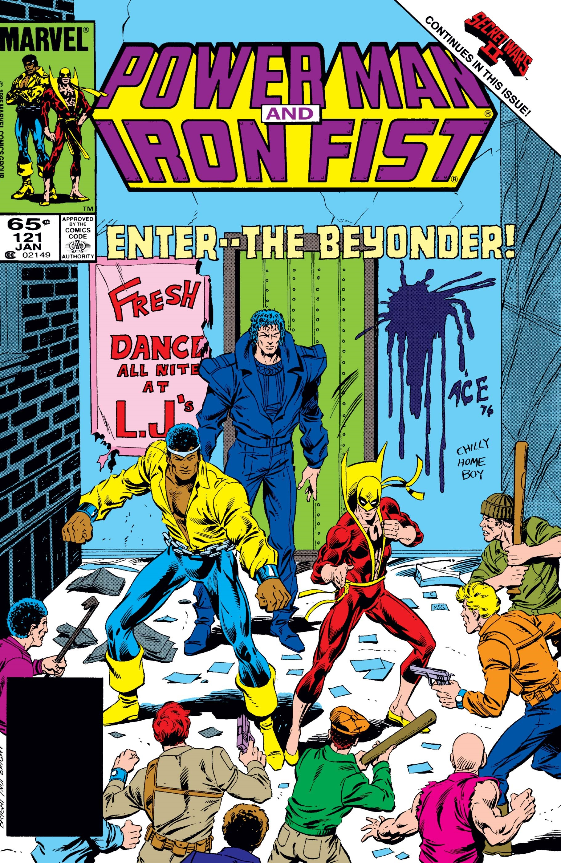 Power Man and Iron Fist (1978) #121