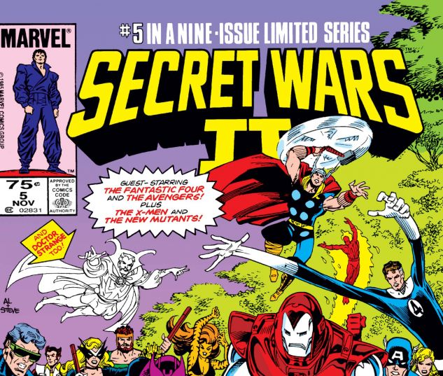 SECRET WARS II (1985) #5