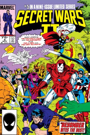 Secret Wars II #5