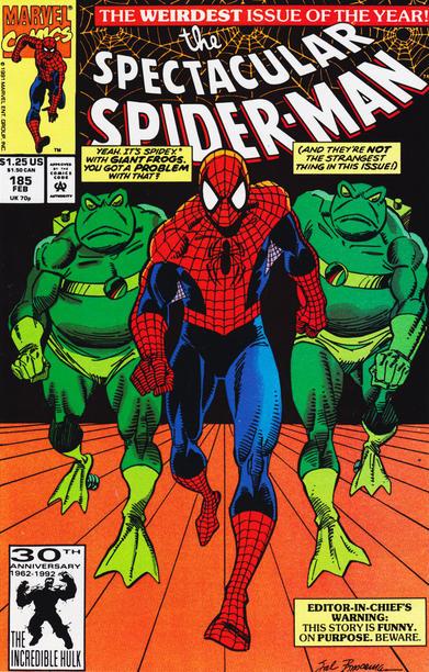 Peter Parker, the Spectacular Spider-Man (1976) #185