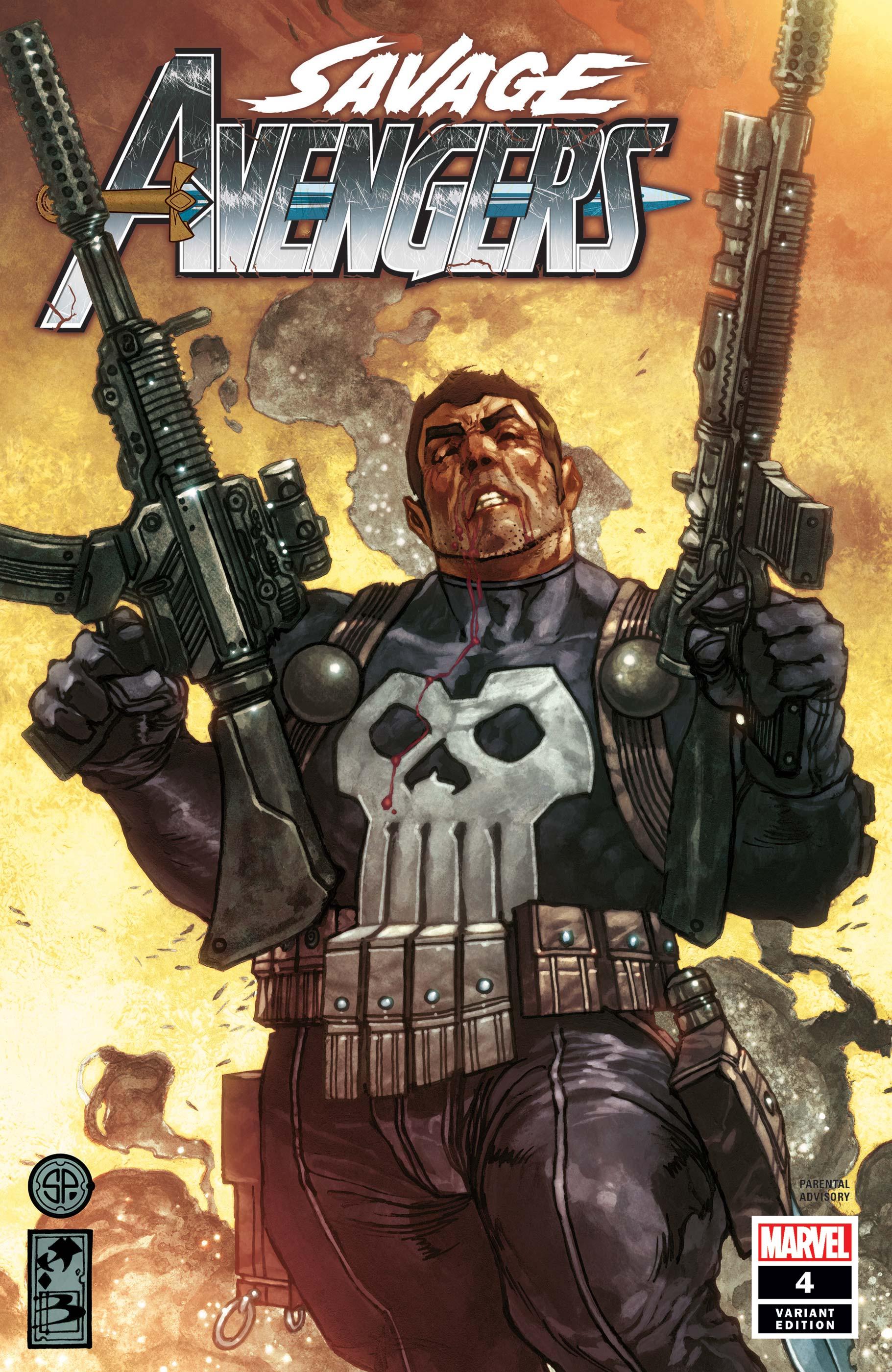 Savage Avengers (2019) #4 (Variant)