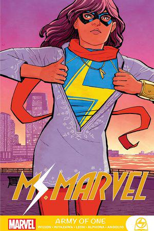 Ms. Marvel: Army Of One (Trade Paperback)