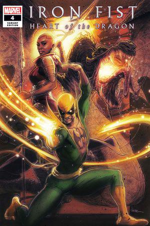 Iron Fist: Heart of the Dragon (2021) #4 (Variant)