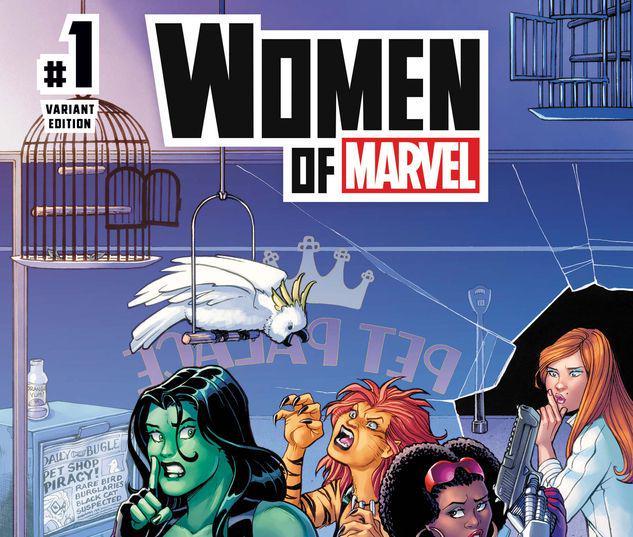 WOMEN OF MARVEL 1 CONNER VARIANT #1