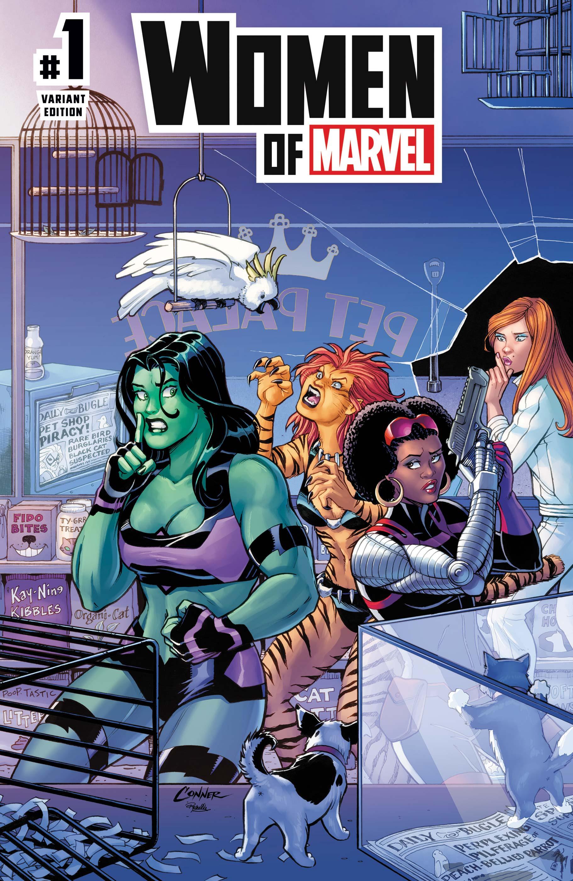 Women of Marvel (2021) #1 (Variant)