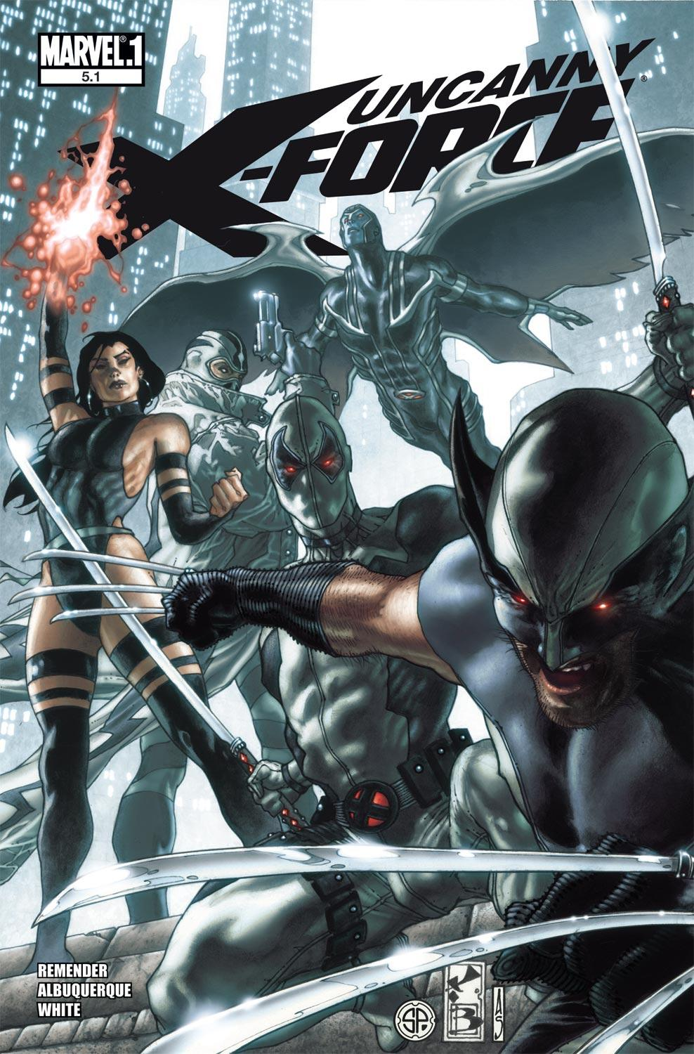 Uncanny X-Force (2010) #5.1