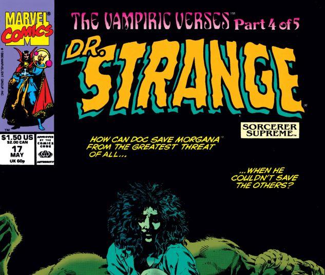 Cover for Doctor Strange, Sorcerer Supreme 17