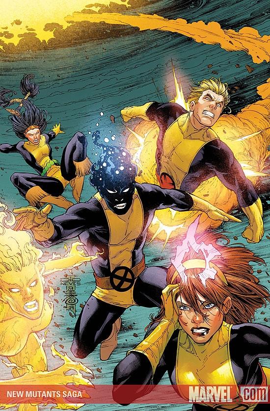 New Mutants Saga (2009) #4