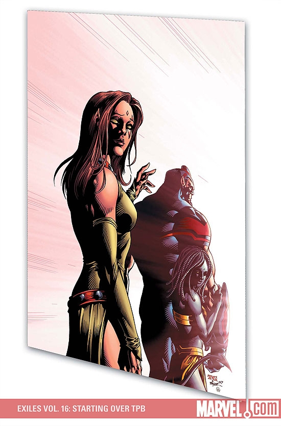 Exiles Vol. 16: Starting Over (Trade Paperback)
