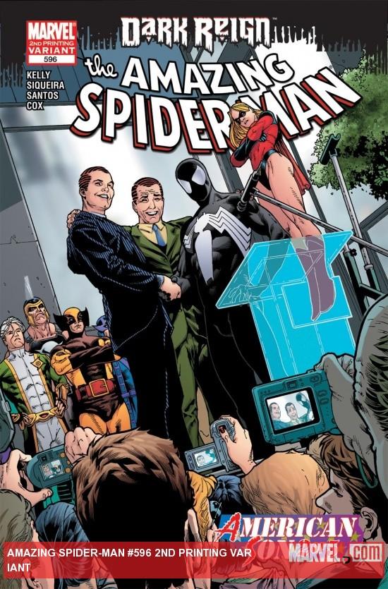 Amazing Spider-Man (1999) #596 (2ND PRINTING VARIANT)