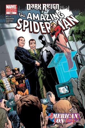 Amazing Spider-Man #596  (2ND PRINTING VARIANT)