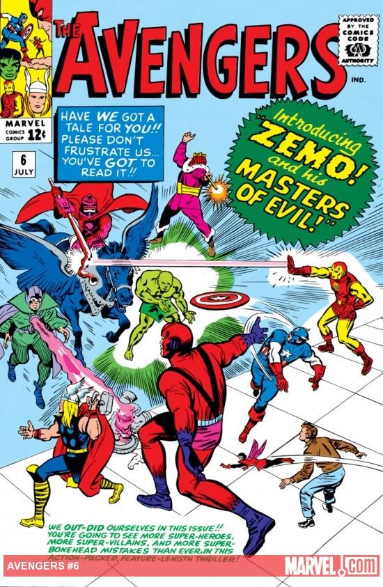 Avengers (1963) #6