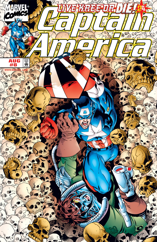 Captain America (1998) #8