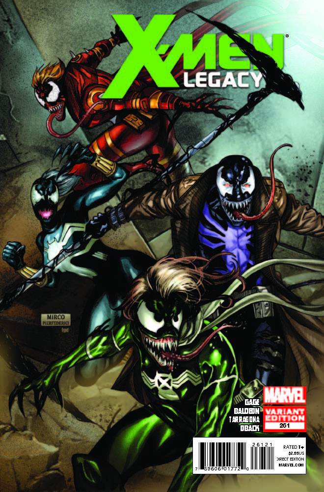 X-Men Legacy (2008) #261 (Venom Variant)