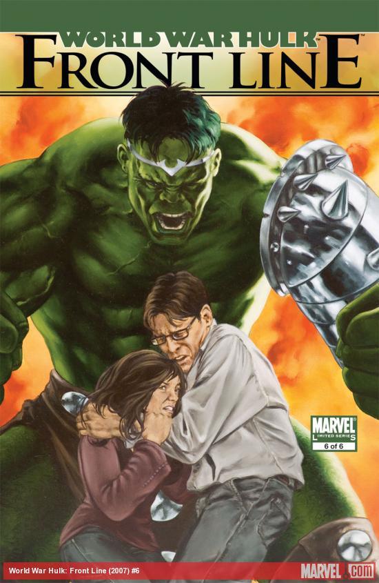 World War Hulk: Front Line (2007) #6
