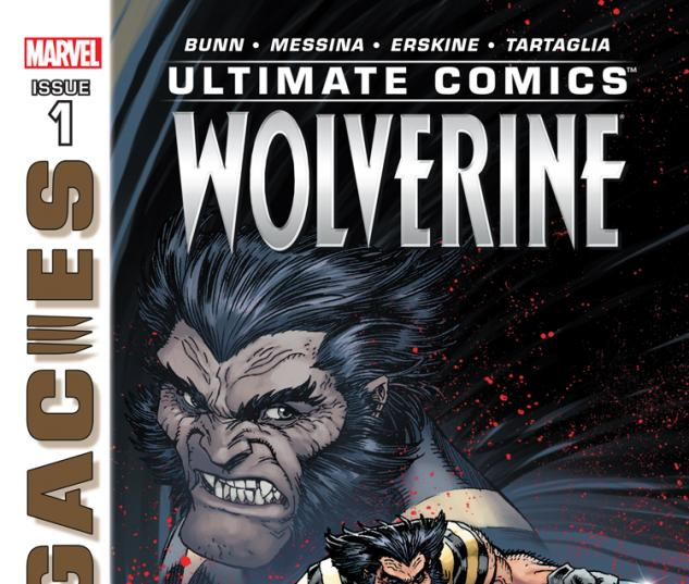cover from Ultimate Comics Wolverine (2013) #1